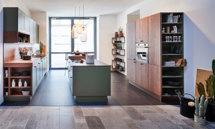 Küchen Erlebnis Lemgo | Küchen im modernen Landhaus-Stil