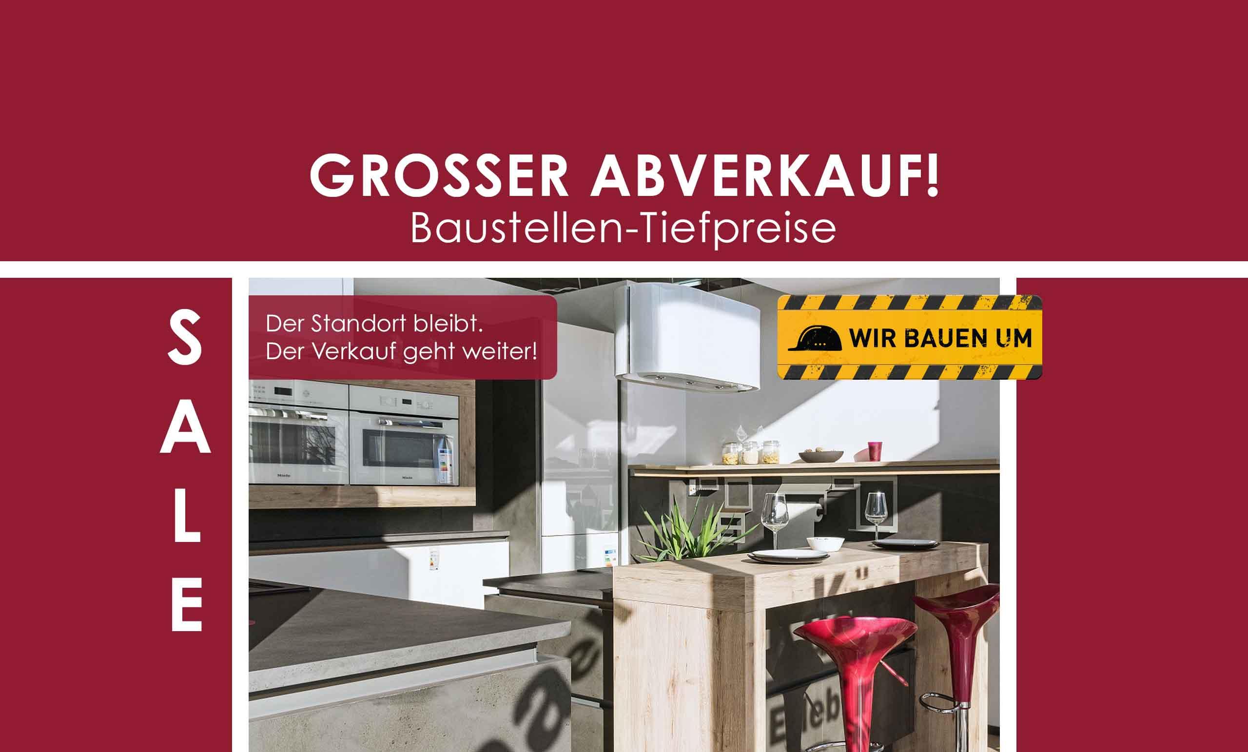 Küchen Erlebnis Lemgo | Großer Abverkauf wegen Umbau