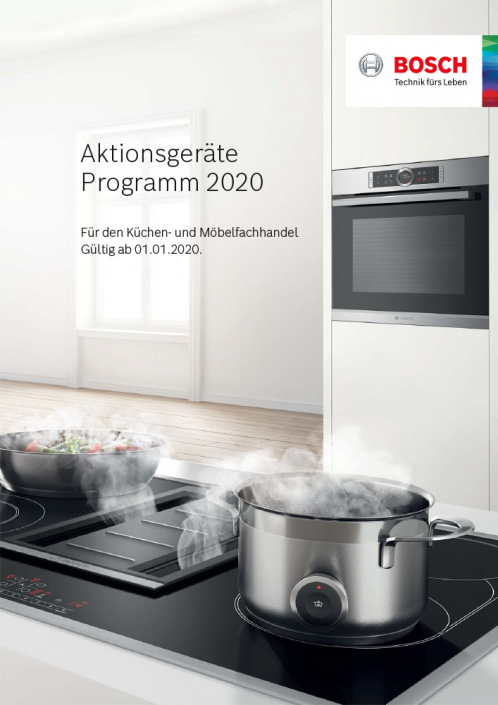 Küchen Erlebnis Lemgo | Bosch Aktionsgeräte Programm 2020